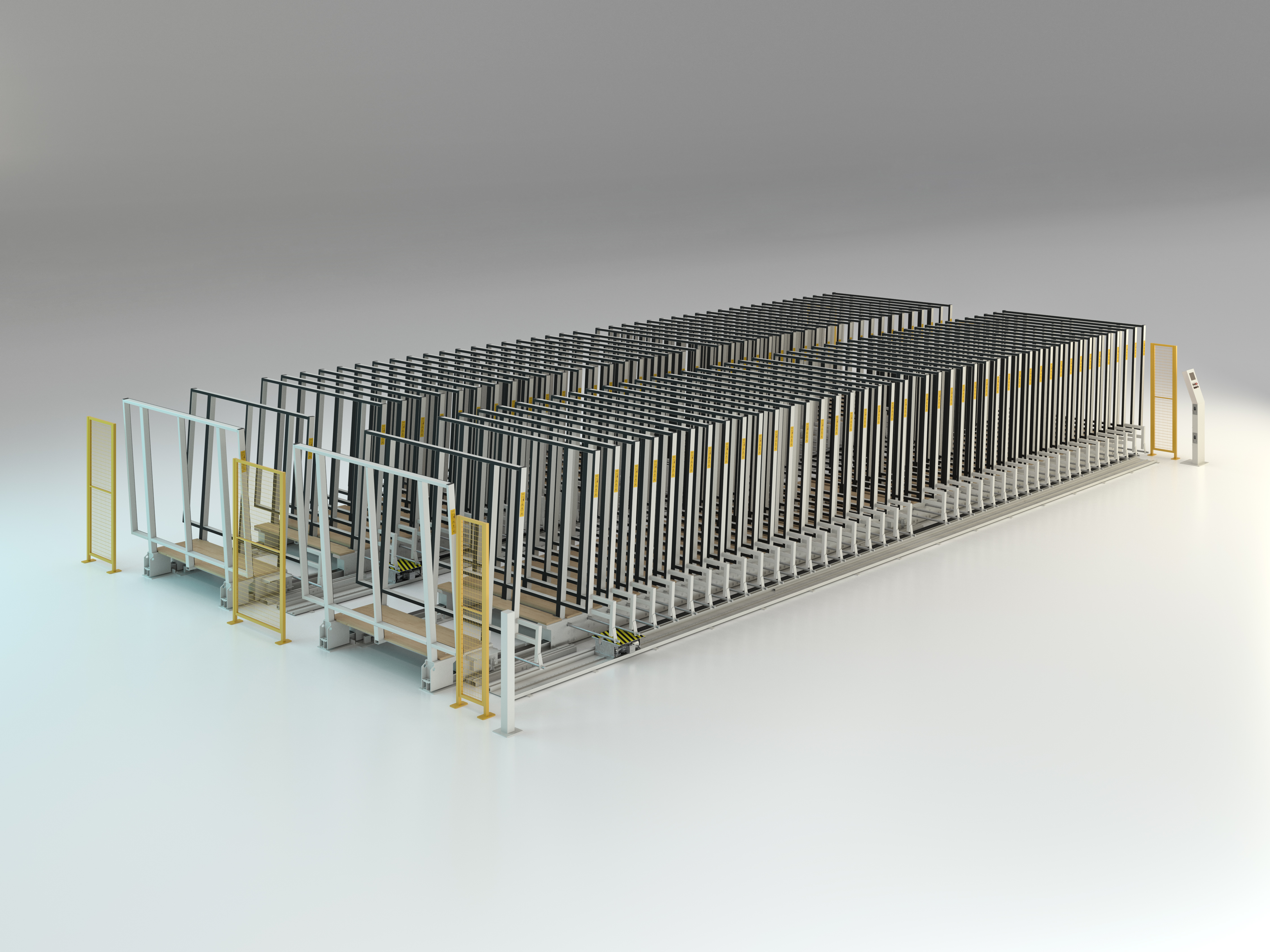 Automatic racking system double parallel Mod. MVLM/1084