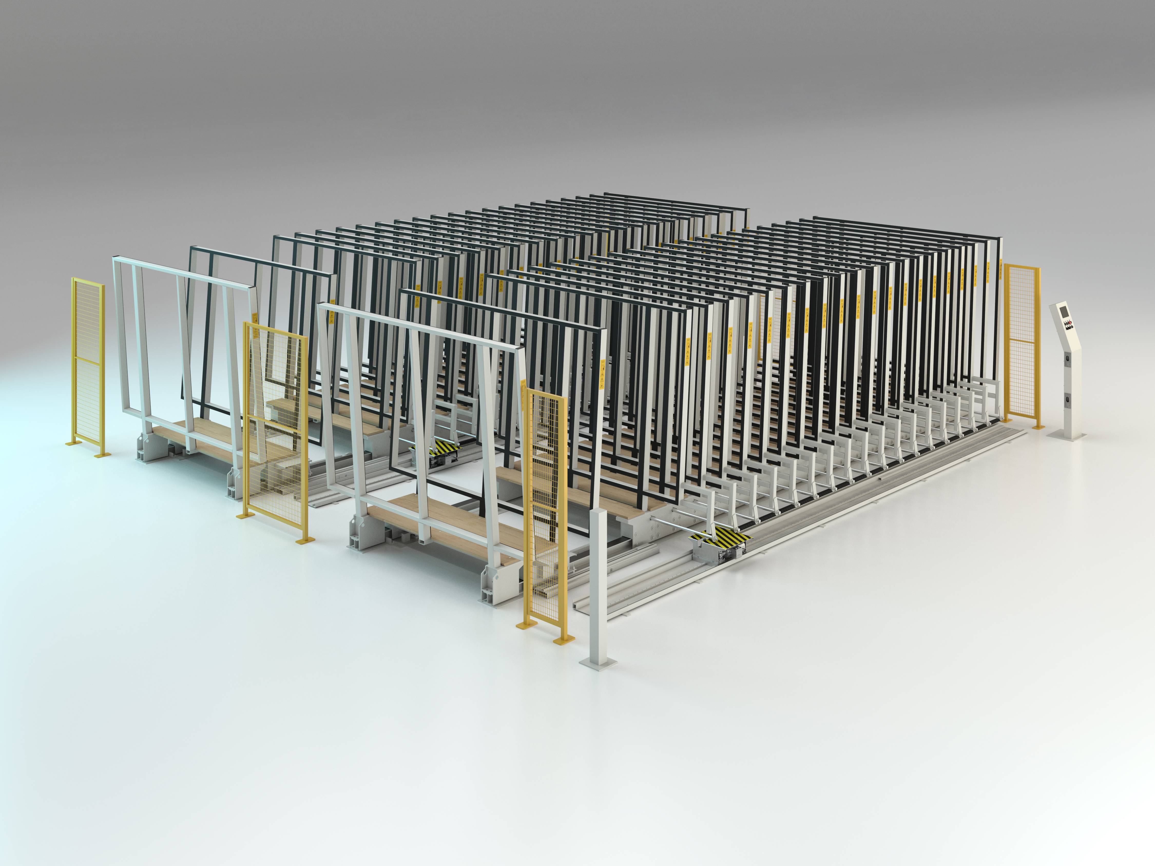 Automatic racking system double parallel Mod. MVLM/542